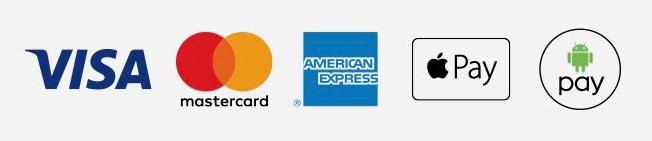 We Accept Cash, Checks & Credit Cards