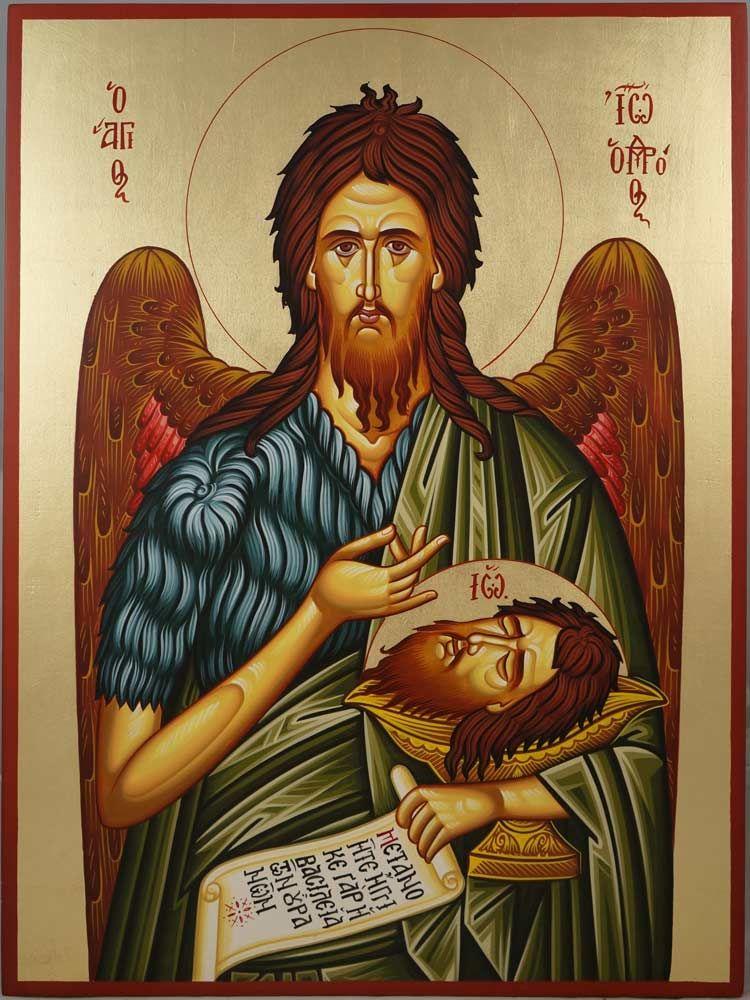 Holy Glorious Prophet, Forerunner, and Baptist John